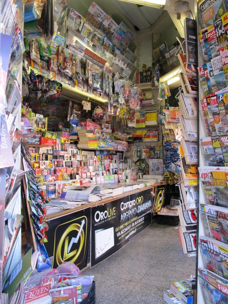 Bild eines Kiosk
