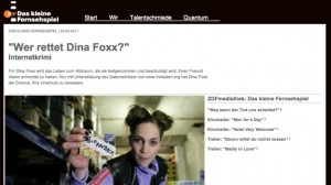 """""""Wer rettet Dina Foxx?"""" im Netz"""