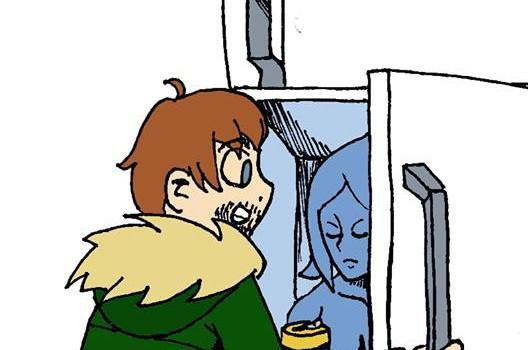 Kühlschränke, Frauen und Comics