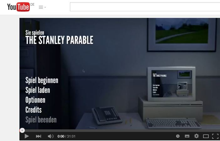 Let's play: The Stanley Parable